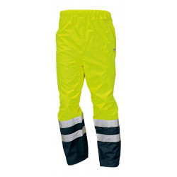 Výstražné kalhoty EPPING žluté