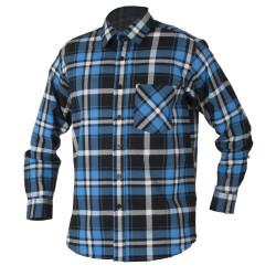 Flanelová košile JONAH modrá