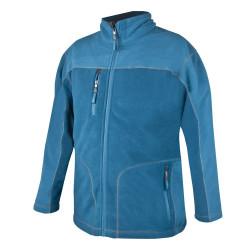 Pánská fleecová mikina MICHAEL modrá