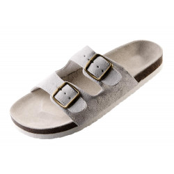 Korkové pantofle pánské PUDU světlé