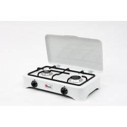 Dvouplotýnkový plynový vařič s termopojistkou VIP DUO