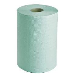 Papírové ručníky-role, 1vrstvé zelené