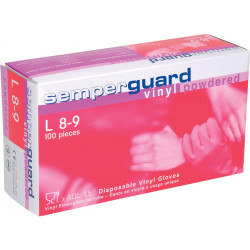 Jednorázové vinilové rukavice SEMPERGUARD VINYL PUDR