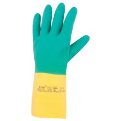 Latexové rukavice BI-COLOUR 87-900