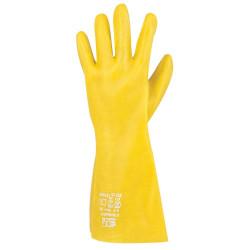 Rukavice chemicky odolné STANDART žluté