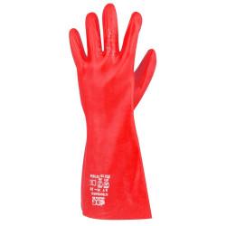 Rukavice chemicky odolné STANDART červené