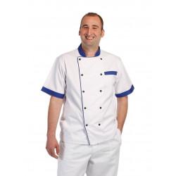 Kuchařský rondon BLUE SHORT