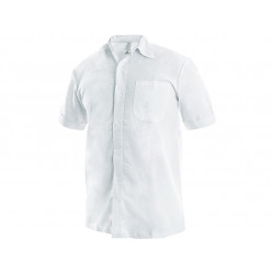 Košile pánská krátký rukáv RENÉ - bílá