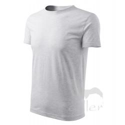 Tričko pánské CLASSIC NEW světle šedý melír