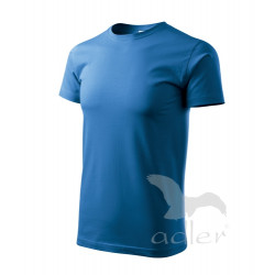 Tričko pánské BASIC azurově modrá