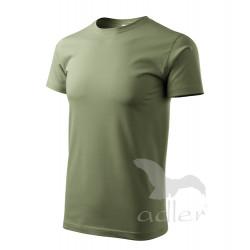 Tričko pánské BASIC khaki