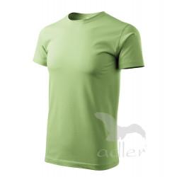 Tričko pánské BASIC trávově zelené