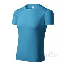 Tričko pánské PIXEL tyrkysové