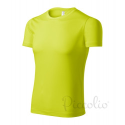 Tričko pánské PIXEL neon yellou