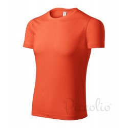 Tričko pánské PIXEL neon orange