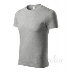 Tričko pánské PAINT tm.šedý melír