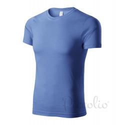 Tričko pánské PAINT azurově modrá