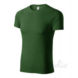 Tričko pánské PAINT lahvově zelená