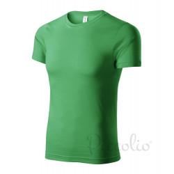 Tričko pánské PAINT středně zelená