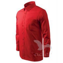 Košile pánská dlouhý rukáv SHIRT LONG SLEEVE červená