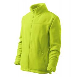 Dětská bunda fleecová JACKET limetková