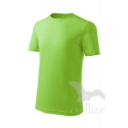 Tričko dětské CLASSIC NEW apple green