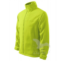 Pánská fleecová bunda  JACKET limetková