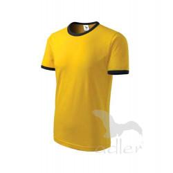 Tričko pánské INFINITY žluté