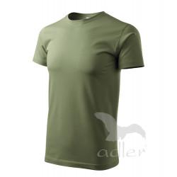 Tričko pánské HEAVY NEW khaki