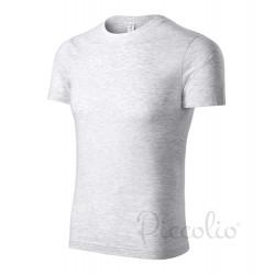 Tričko pánské PEAK světle šedý melír