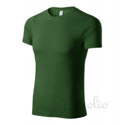 Tričko pánské PEAK lahvově zelené
