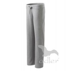 Tepláky dámské COMFORT tmavě šedý melír