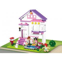 Stavebnice Sluban Girls Dream Prázdninový dům, 291 dílků
