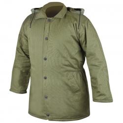 Zateplený kabát  NICOLAS zelený