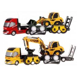 Sada dálkově ovládaných vozidel - buldozer