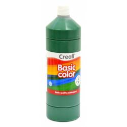 Barvy temperové Creall Basic color - tmavě zelená