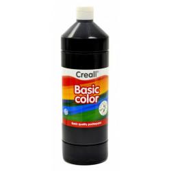 Barvy temperové Creall Basic color - černá