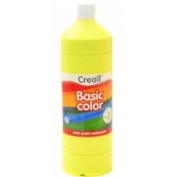 Barvy temperové Creall Basic color - žlutá