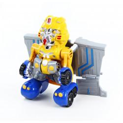 Malý robot žlutý se zvukem a světlem
