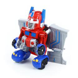 Malý robot červený se zvukem a světlem