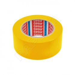 Páska značkovací podlahová TESA 50 mm x 33 m - žlutá