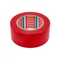 Páska značkovací podlahová TESA 50 mm x 33 m - červená