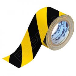 Standard podlahová páska 50 mm x 33 m - žlutá/černá