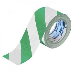Standard podlahová páska 50 mm x 33 m - zelená/bílá