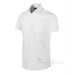Košile pánská krátký rukáv FLASH - bílá