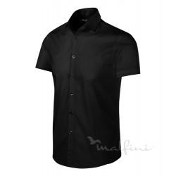 Košile pánská krátký rukáv FLASH - černá