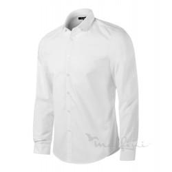 Košile pánská dlouhý rukáv DYNAMIC - bílá