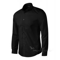 Košile pánská dlouhý rukáv DYNAMIC - černá