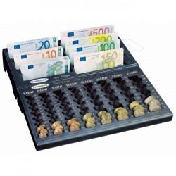 Mincovník+ Notes na euro bankovky COMSAFE - černá