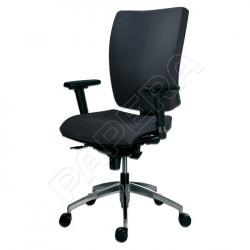 Židle kancelářská GALA 1580 SYN ALU YN009 - černá